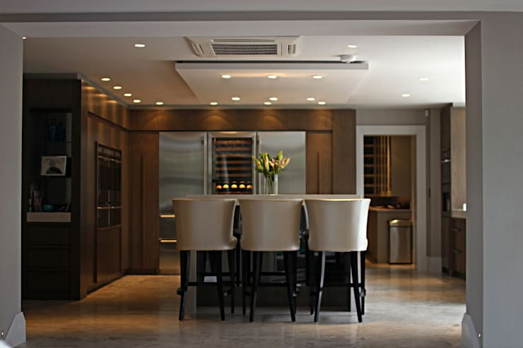 Luxury Mansion Cheshire:  Dining room by Asco Lights