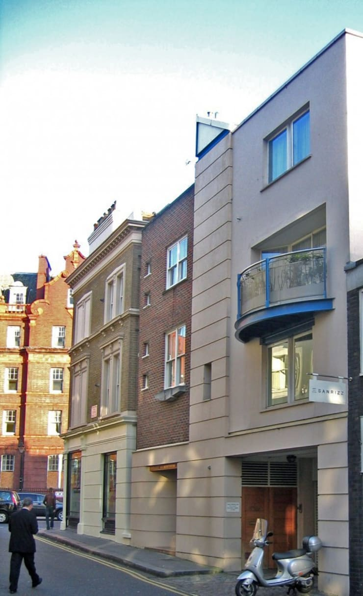 Knightsbridge, Cheval Place, London:  Houses by 4D Studio Architects and Interior Designers