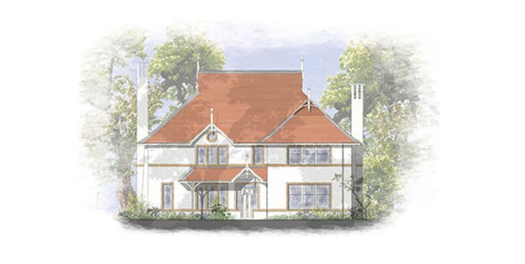 Traditional House Designs for Hampshire sites:  Houses by 4D Studio Architects and Interior Designers