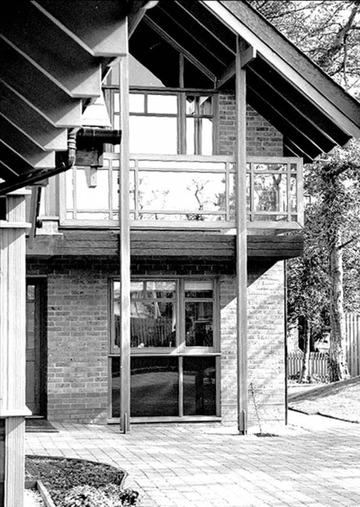 Cambridge House for Professor Stephen Hawking Casas de estilo ecléctico de 4D Studio Architects and Interior Designers Ecléctico