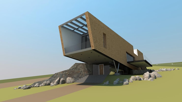 House In Nova Scotia, Canada:   by 4D Studio Architects and Interior Designers
