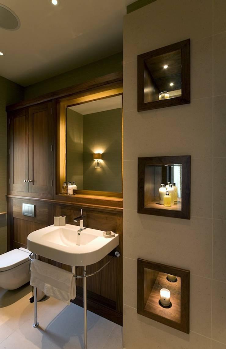 The Master Bathroom:  Bathroom by Brilliant Lighting