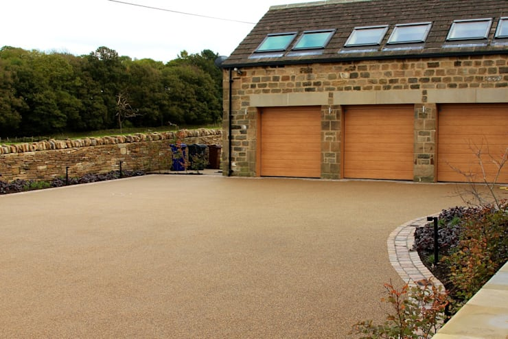 Barn Conversion:  Garage/shed by The Pebble Mill