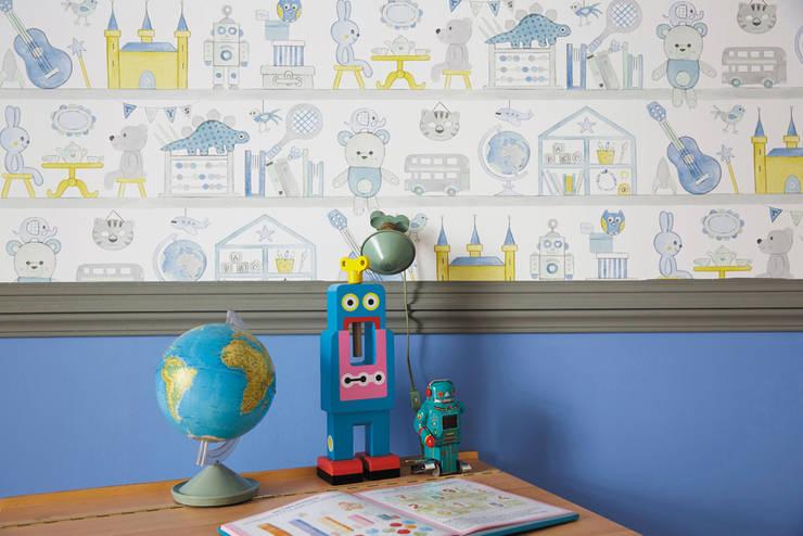 Habitaciones para niños de estilo ecléctico de kinder räume ag Ecléctico