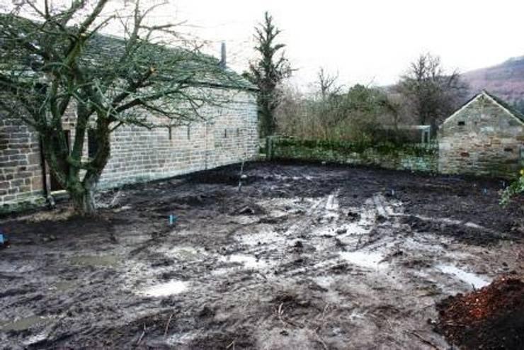 Before:  Garden by Bestall & Co Landscape Design Ltd