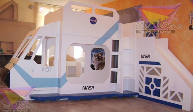 Litera nave de la NASA: Habitaciones infantiles de estilo  por camas y literas infantiles kids world