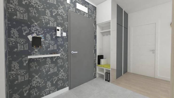 WNĘTRZNOŚCI Projektowanie wnętrz i mebli:  tarz Koridor ve Hol