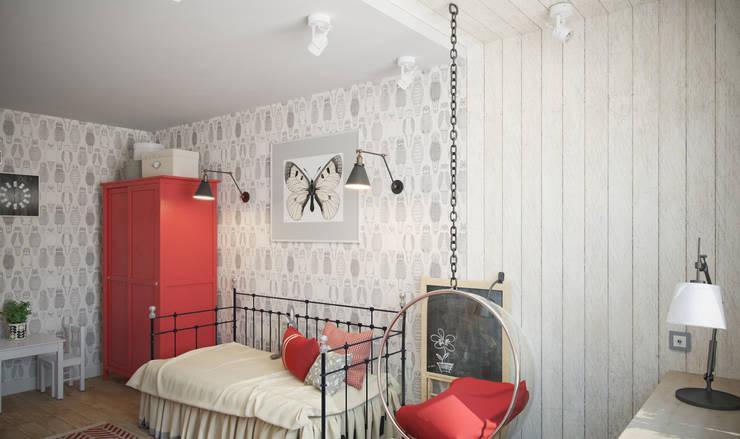 Chambre d'enfant de style de style Industriel par цуккини