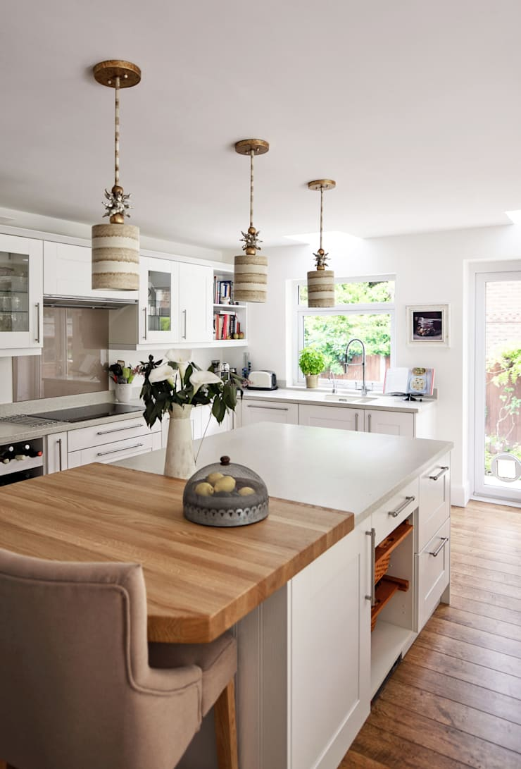 Contemporary take on a French Country Kitchen:  Kitchen by At No 19,