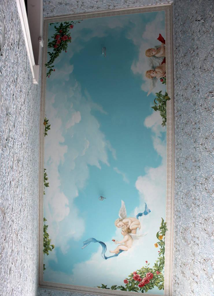 Роспись стен: Коридор и прихожая в . Автор – Lincrusta decor,