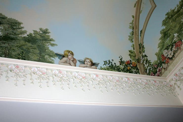 Роспись стен: Детские комнаты в . Автор – Lincrusta decor,
