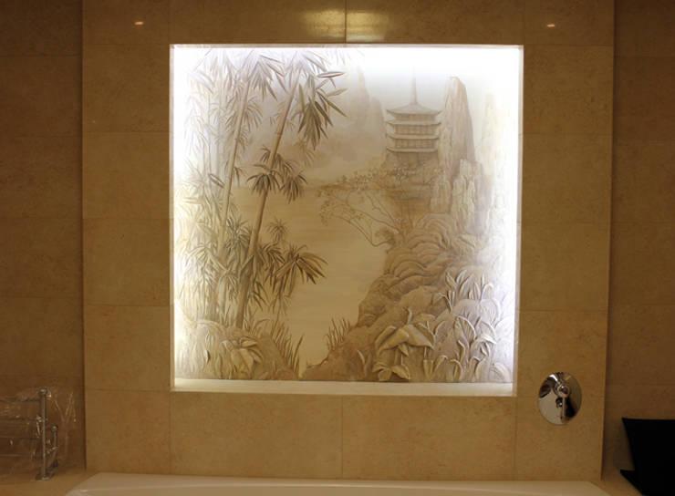 Роспись стен: Ванные комнаты в . Автор – Lincrusta decor,