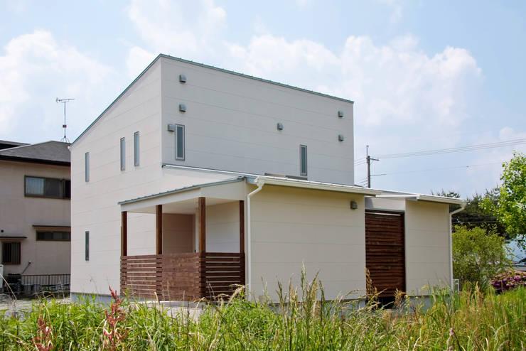 外観: Grand Ciel Design Officeが手掛けた家です。
