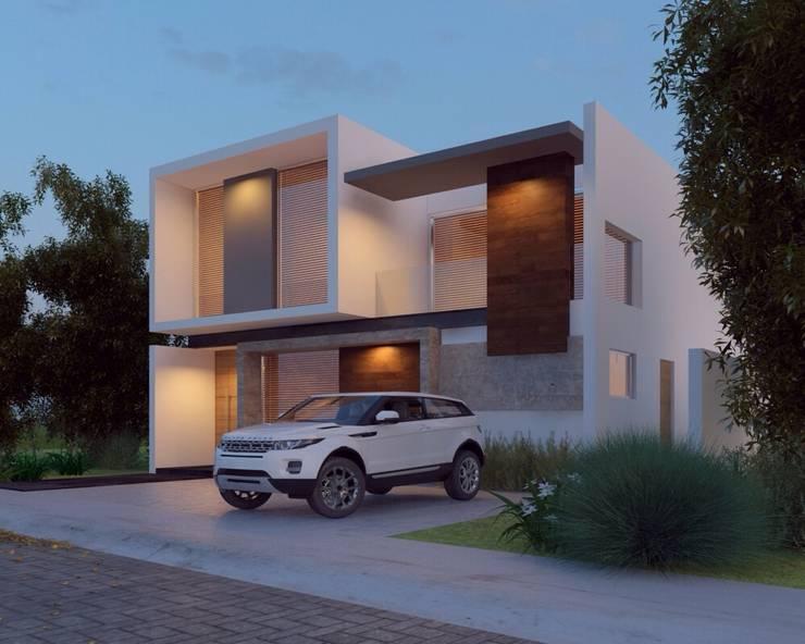 DISEÑO ESTETICO: Casas de estilo  por SYD CONSTRUCTORES