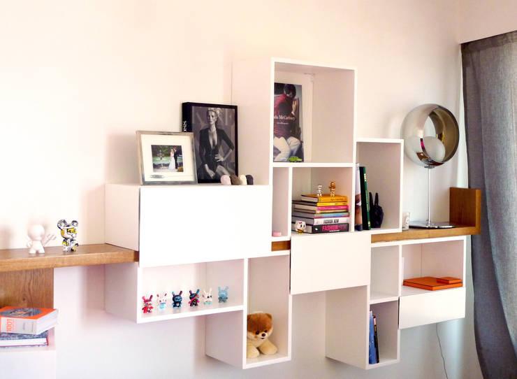 Meuble Eos: Salon de style  par MAAD Architectes