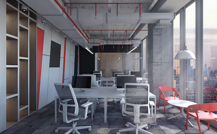 Офис букмекерской конторы: Офисные помещения в . Автор – AFTER SPACE