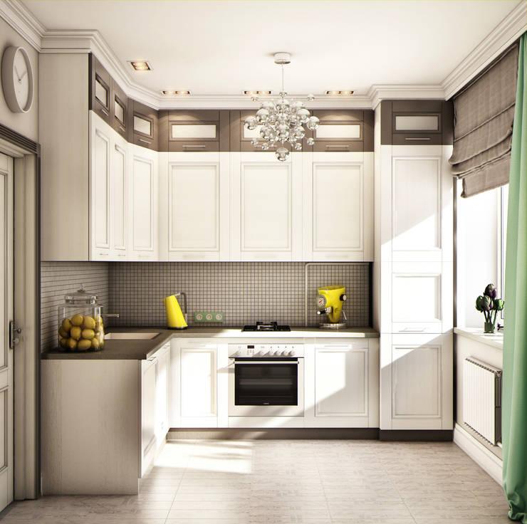 Projekty,  Kuchnia zaprojektowane przez Marina Sarkisyan
