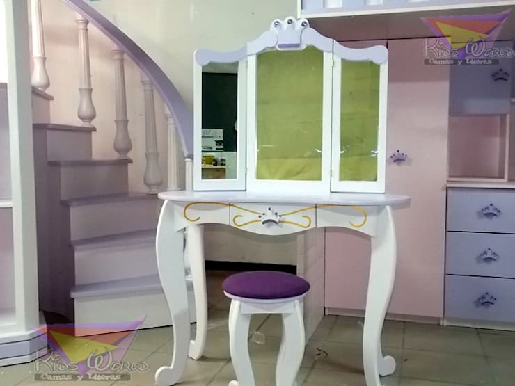 Nursery/kid's room by camas y literas infantiles kids world