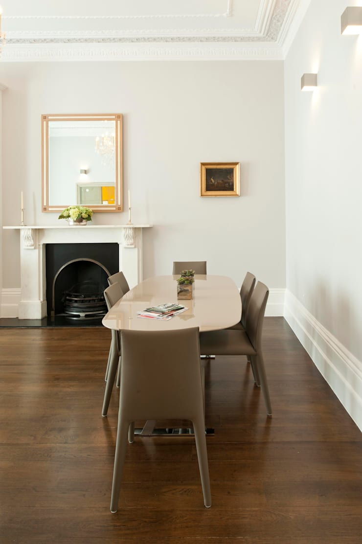 Redcliffe Gardens:  Dining room by Ardesia Design