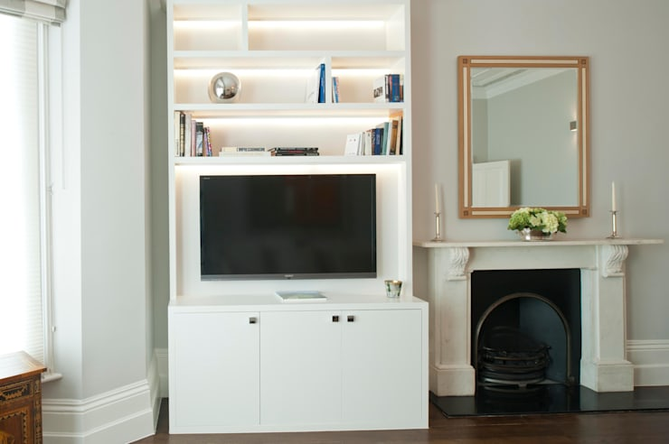 Redcliffe Gardens:  Living room by Ardesia Design