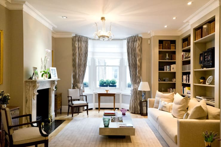 Living room by Ardesia Design