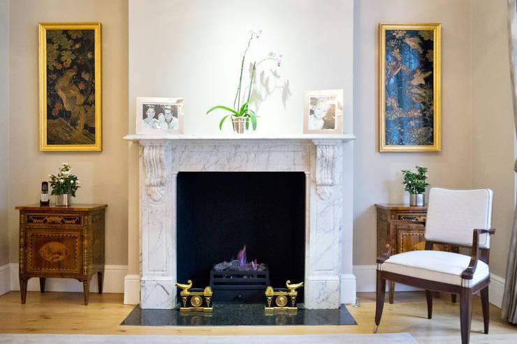 Soggiorno in stile in stile Classico di Ardesia Design