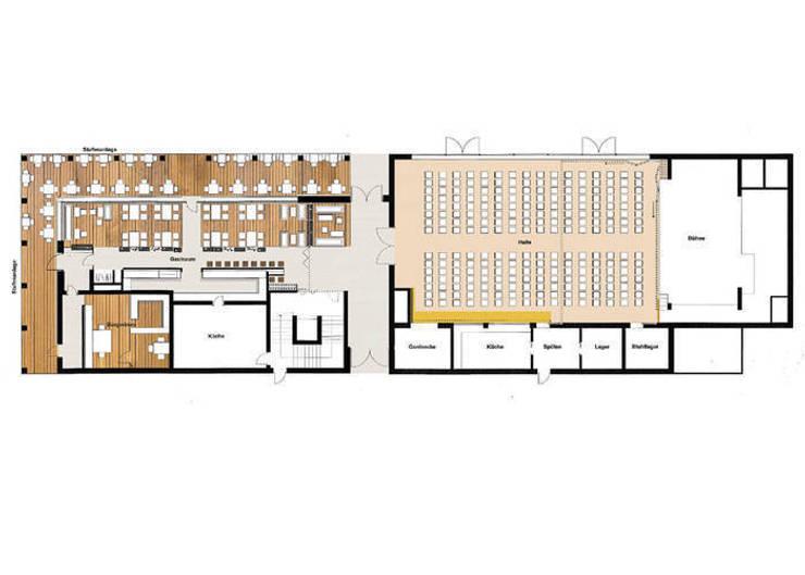 Bürgerhaus Bodman:   von Spaett Architekten GmbH,