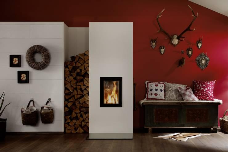 Öfen die verzaubern:  Wohnzimmer von Brunner GmbH