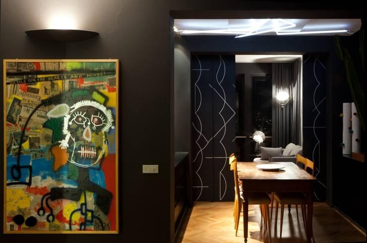 Attico 2 : Case in stile  di Paolo Carli Moretti Architetto,