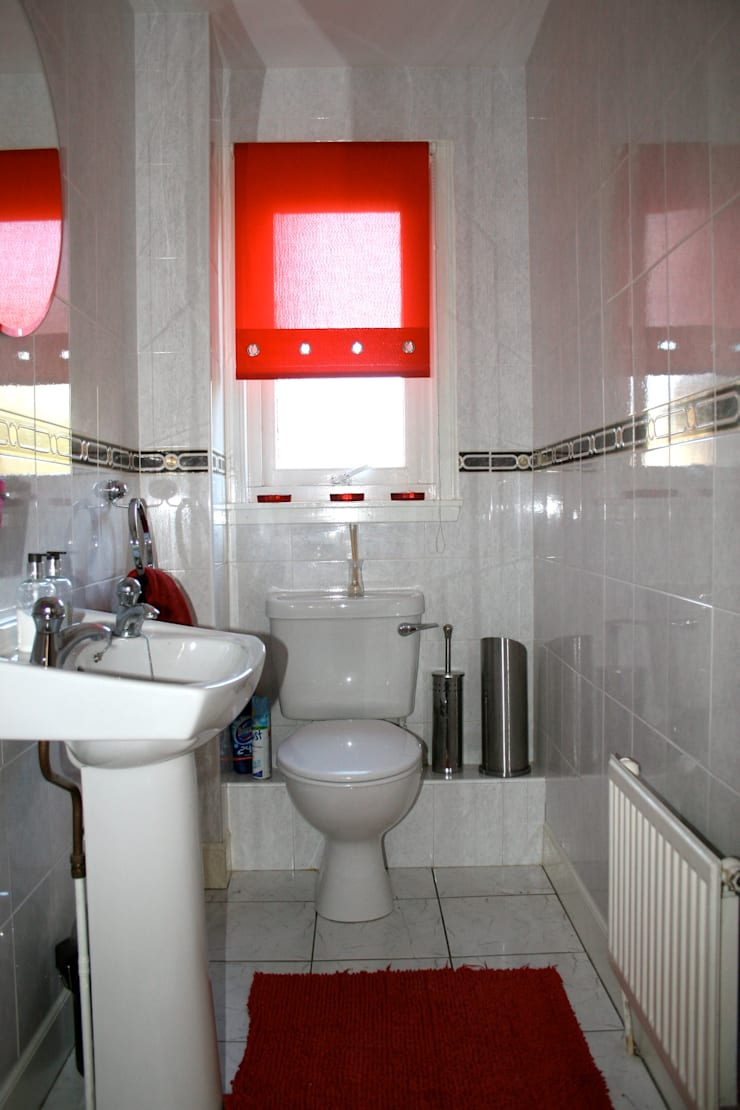 Before:  Bathroom by Isolution Interiors