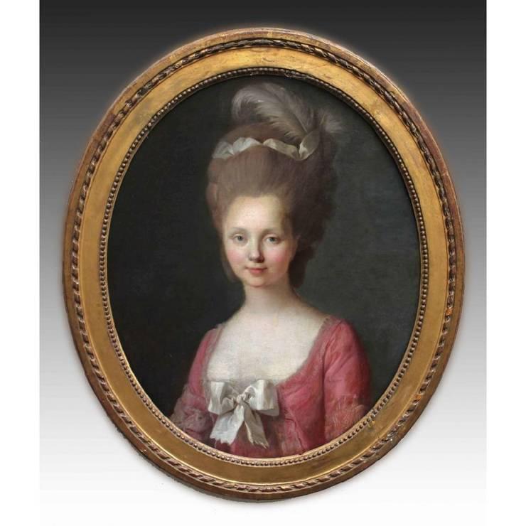 Retrato de Dama: Arte de estilo  de Entredós Antigüedades