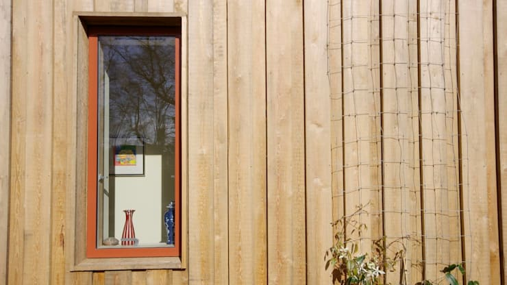 Pond House_Passive House (Passivhaus):  Windows  by Forrester Architects