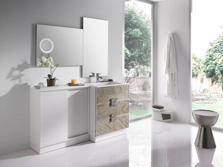 Mobiliario de Baño Ikebe:  de estilo  de STONEPLUS
