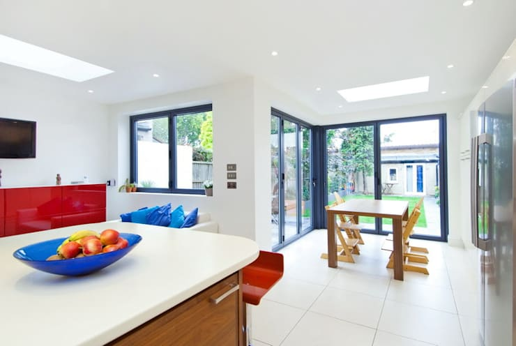 Modern Kitchen Extension :  Kitchen by A1 Lofts and Extensions