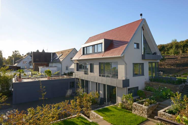 Projekty,  Domy zaprojektowane przez Spaett Architekten GmbH