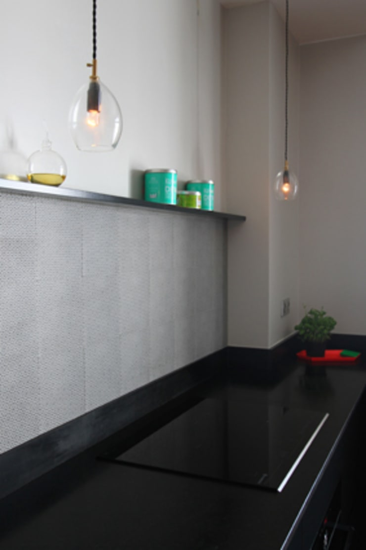 Cuisine et salle et manger : Cuisine de style de style Minimaliste par Camille Hermand Architectures