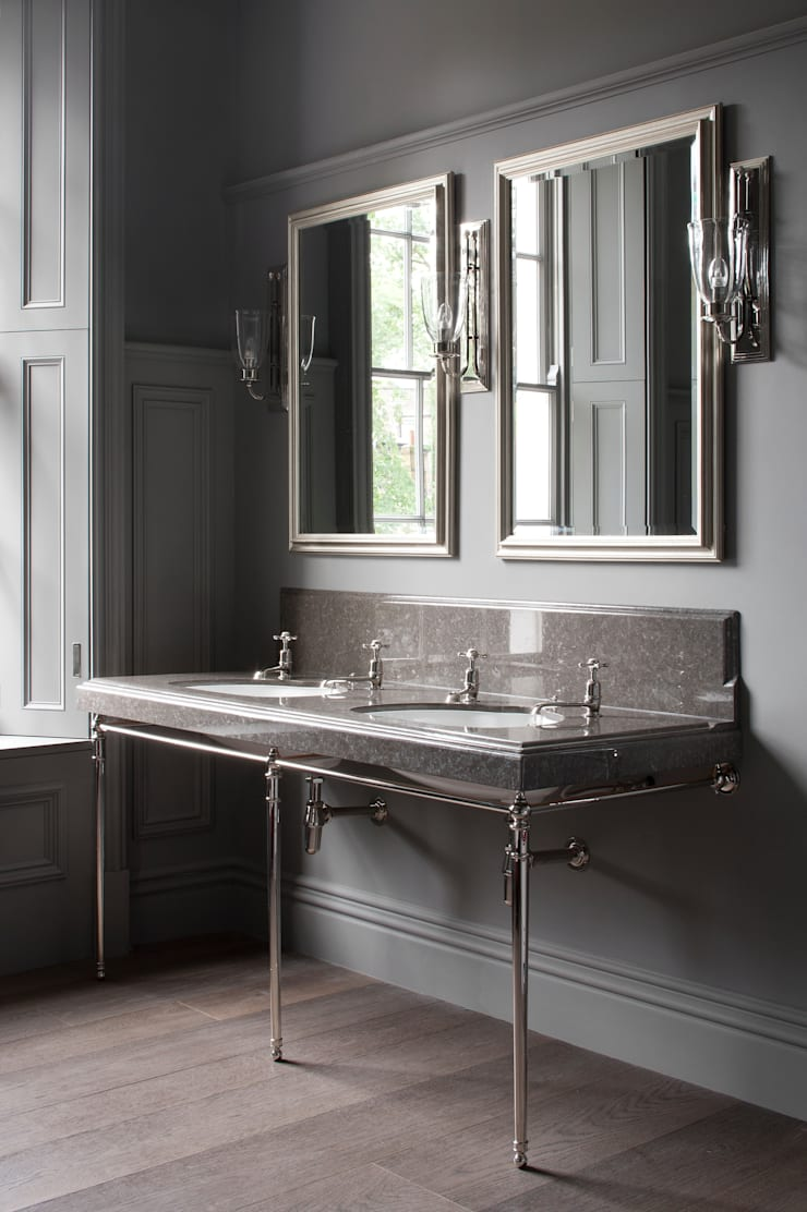 Gilston Road, Anglesey vanity top:  Bathroom by Britannicus Stone