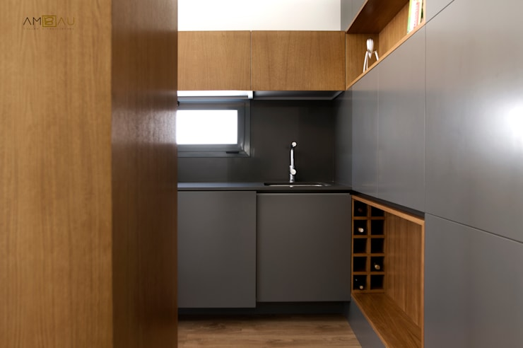 Projekty,  Kuchnia zaprojektowane przez ambau taller d´arquitectes