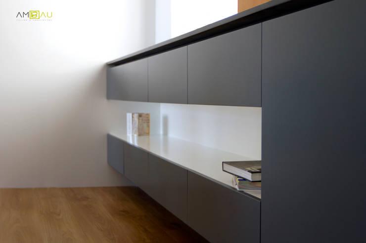 Maisons de style  par amBau Gestion y Proyectos, Éclectique