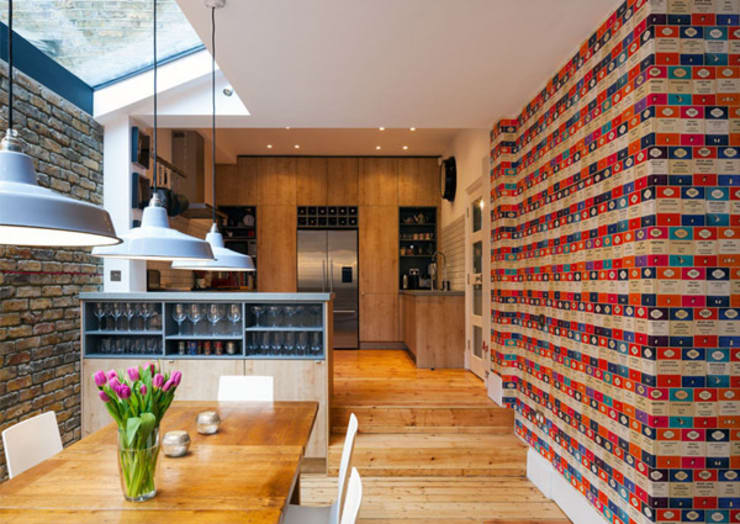 Third Avenue: modern Dining room by Poulsom Middlehurst Ltd.
