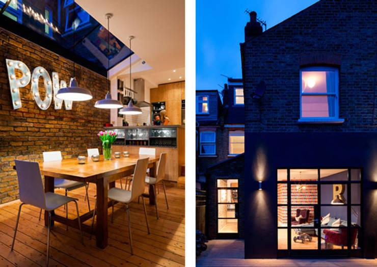 Third Avenue:  Dining room by Poulsom Middlehurst Ltd.