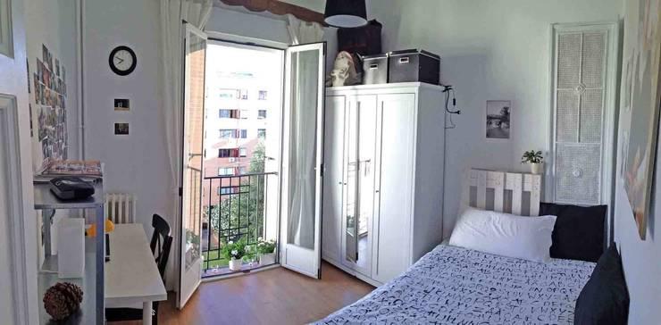 Dormitorios de estilo  por CarlosSobrinoArquitecto