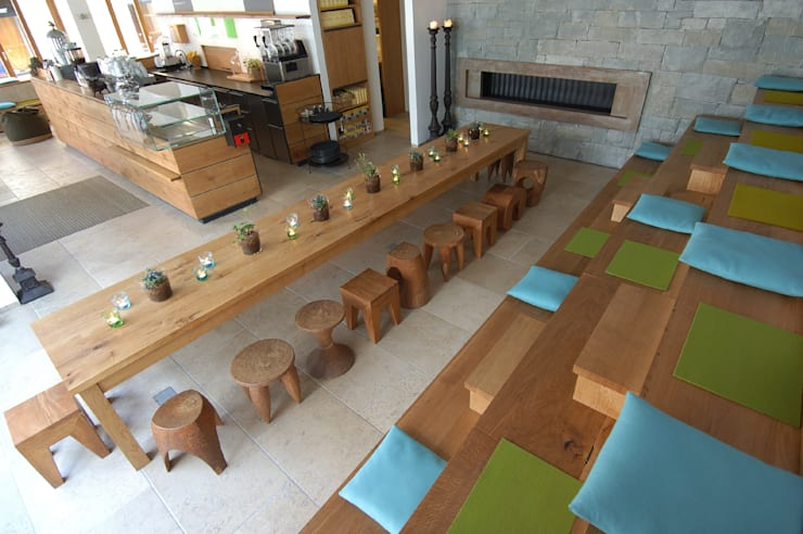 Espaços gastronômicos  por Spaett Architekten GmbH