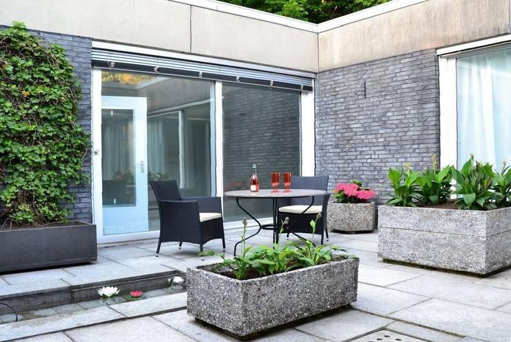 Atrium nachher:   von Home Staging Ulrike Philipp