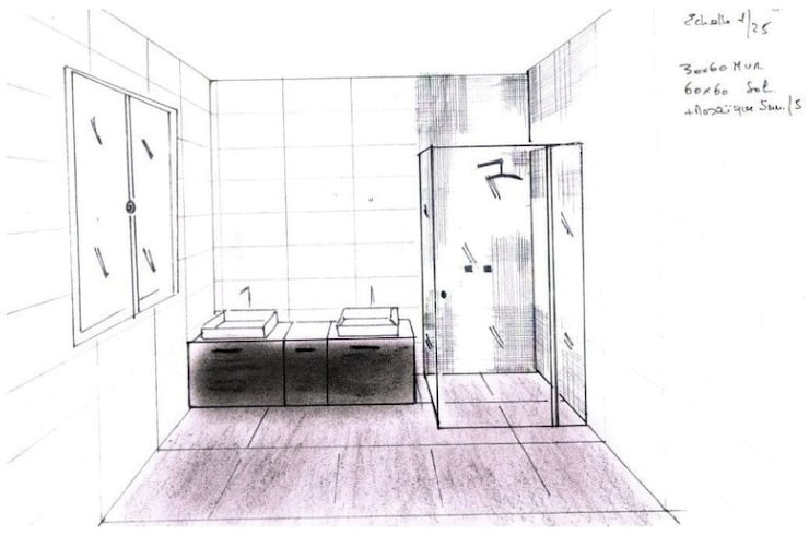 Restructuration d'une villa - Garches:  de style  par Interieurs Autrement