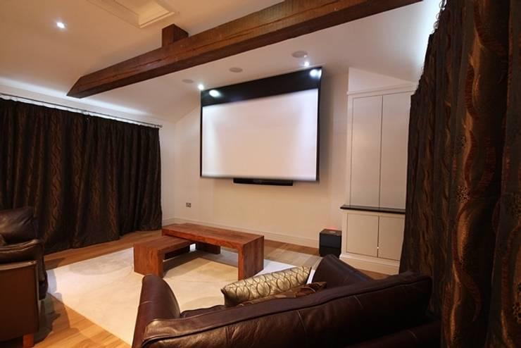 Cinema Room:  Media room by Inspire Audio Visual