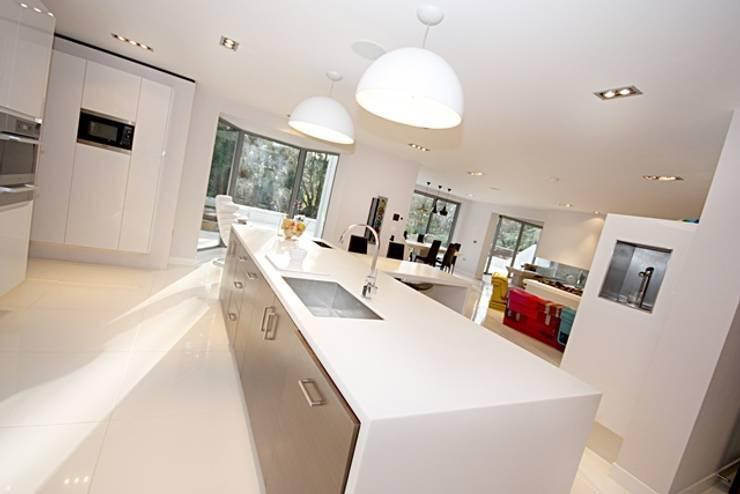 Lighting:  Kitchen by Inspire Audio Visual