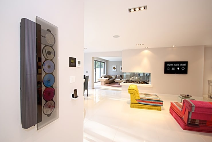 Home Automation:  Living room by Inspire Audio Visual