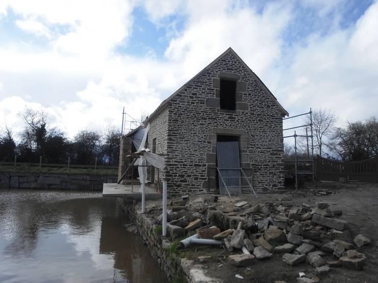 Дома в . Автор – Christèle BRIER Architechniques