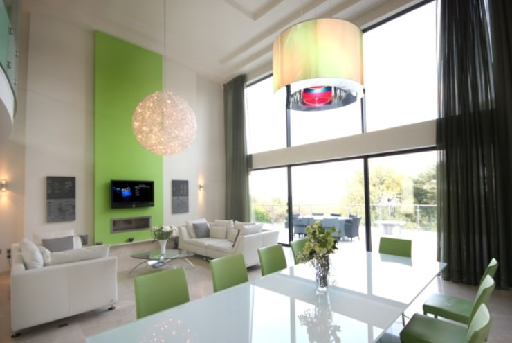 Home Entertainment:  Dining room by Inspire Audio Visual